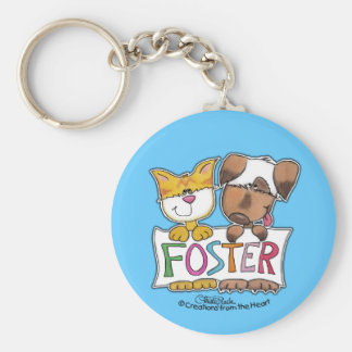 Hunde-und Katzen-Griff-PFLEGEfahne Schlüsselanhänger