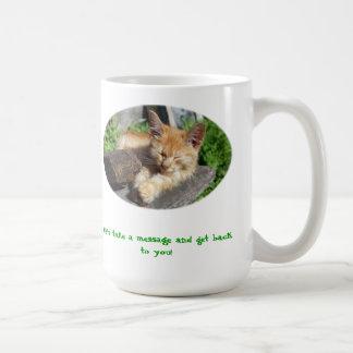Hunde und Katzen Kaffeetasse