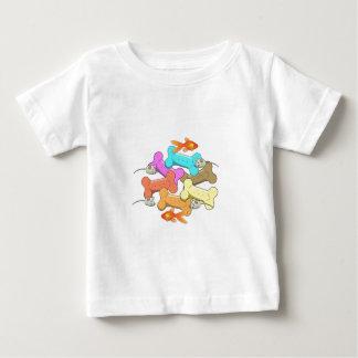 Hunde-und Katzen-Leckereien Baby T-shirt