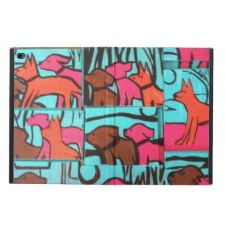 Hunde-und Katzen-Malereien