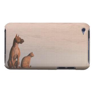 Hunde- und Katzenfreundschaft Barely There iPod Case
