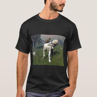 Hunde- und Katzenfreundschaft T-Shirt
