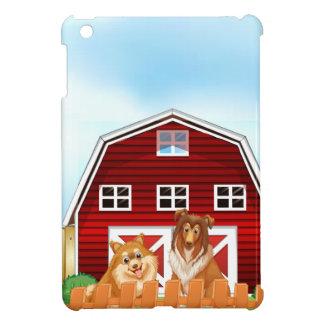 Hunde und Scheune Hüllen Für iPad Mini