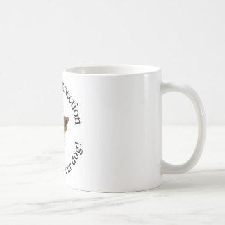 Hunde- Verbindung LLC-Logoschale Kaffeetasse