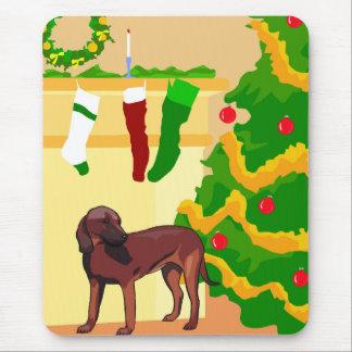 Hunde- Weihnachten Mauspad