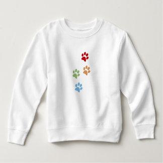 Hundeabdruck Sweatshirt