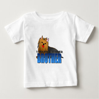 Hundebruder Yorkshires Terrier Baby T-shirt