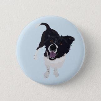 HundeButton Runder Button 5,7 Cm