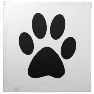 Hundedruck Serviette