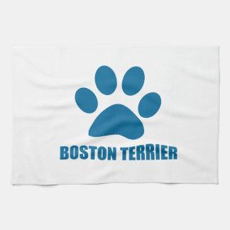HUNDEentwürfe BOSTONS TERRIER Handtuch