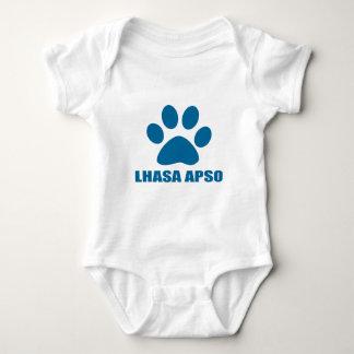 HUNDEentwürfe LHASAS APSO Baby Strampler