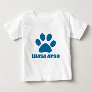 HUNDEentwürfe LHASAS APSO Baby T-shirt