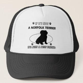 Hundeentwürfe NORFOLKS TERRIER Truckerkappe