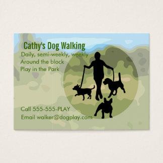 Hundegehen Visitenkarte
