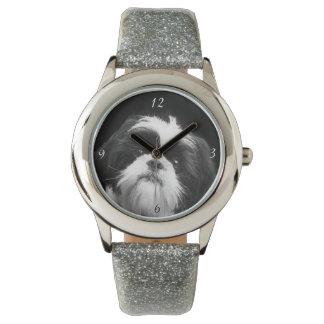HundeGlitterarmbanduhr Shih Tzu Armbanduhr