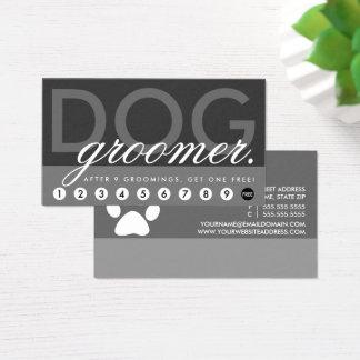 Hundegroomer vergütet Programm Visitenkarte