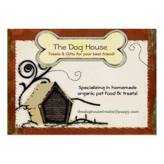 Hundehaus BIO HAUSTIER-LECKEREI-NAHRUNG Jumbo-Visitenkarten