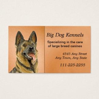 Hundehundehütten-Schäferhund-Visitenkarte Visitenkarten