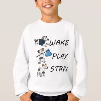 HundeJack-Russell-Terrier WECKEN SPIELSTRAY Sweatshirt
