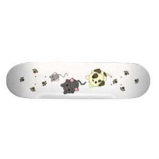 Hundekatze, Maus Bedruckte Skateboarddecks