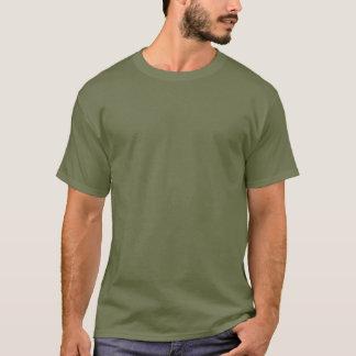Hundeknochen-Billard - begraben Sie es oder beißen T-Shirt