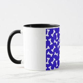 Hundeknochen-Mitternachtsblau Tasse