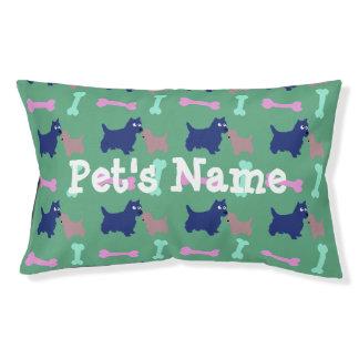 Hundeknochen-personalisiertes Hundebett im Freien1 Haustierbett