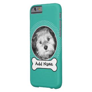 Hundeknochen-und Gewohnheits-Haustier-Foto Barely There iPhone 6 Hülle