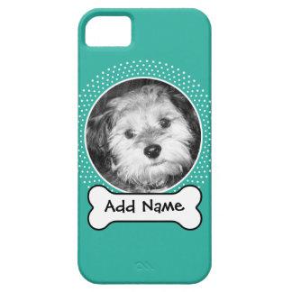 Hundeknochen-und Gewohnheits-Haustier-Foto iPhone 5 Etuis