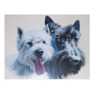 Hundekunst: Maximale Postkarte