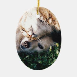 HundeLiebenKitty Keramik Ornament