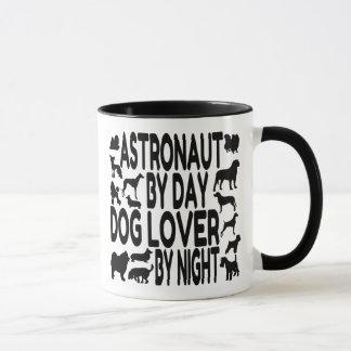 Hundeliebhaber-Astronaut Tasse