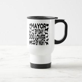 Hundeliebhaber-Bürgermeister Reisebecher