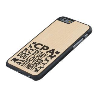 Hundeliebhaber CPA Carved® iPhone 6 Hülle Ahorn