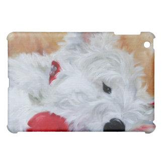 "Hundeliebhaber-Geschenk ""Kissen-Zeit-"" Bostons iPad Mini Hülle"
