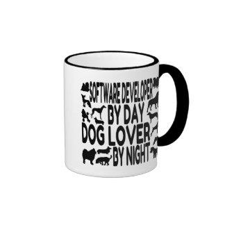 Hundeliebhaber-Softwareentwickler Ringer Tasse