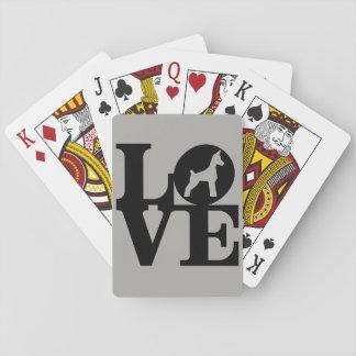 Hundeliebhaber-Spielkarten, Spielkarten