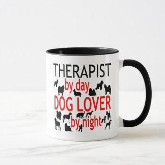 Hundeliebhaber-Therapeut im Rot Tasse