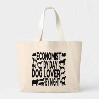 Hundeliebhaber-Wirtschaftswissenschaftler Jumbo Stoffbeutel
