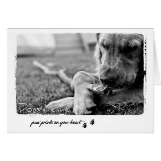 Hundeliebhabergrüße Karte