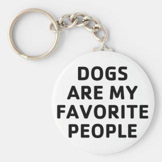 Hundelieblings-Leute Schlüsselanhänger