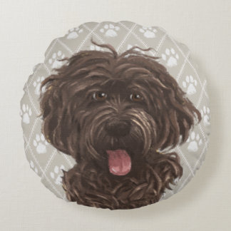 Brown Labradoodle Dog Paintings / Labradoodle Love