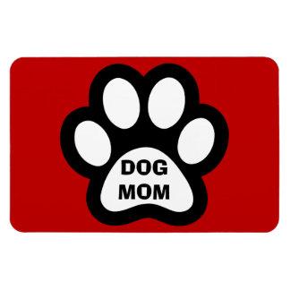 Hundemamma-Tatzen-Druck-flexibler Magnet