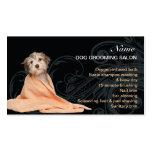 Hundepflegen Salon-Visitenkarte