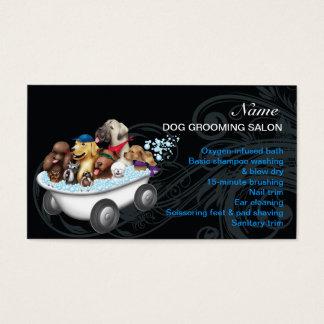 Hundepflegen Salon-Visitenkarte Visitenkarten