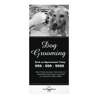 Hundepflegengestell-Karte - Personalizable Werbekarte