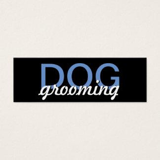 HundepflegenLochkarte Mini Visitenkarte