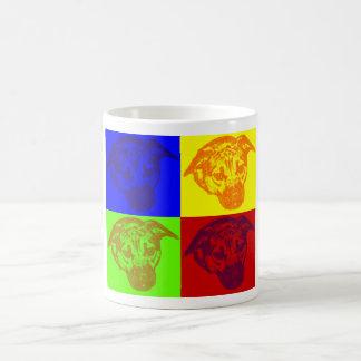 HundePop-Kunst-verwandelnde Tasse