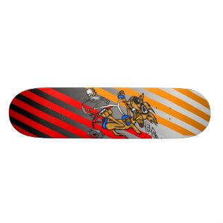 Hundereitfahrrad Skateboarddeck