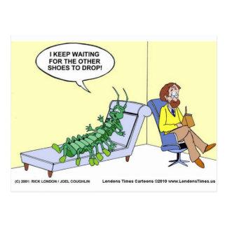 Hundertfüßer Therapie-in den lustigen Postkarte